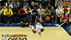 What Is Nate Robinson's Vertical Leap?