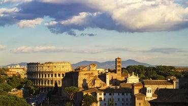 What Natural Geographic Advantages Did the City of Rome Have?
