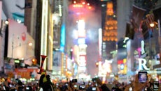 At What Time Does the Times Square Ball Drop?