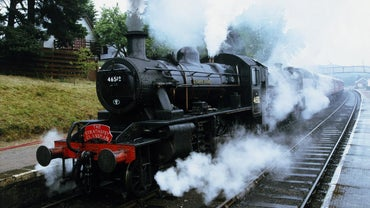 When Was the First Steam Train Invented?