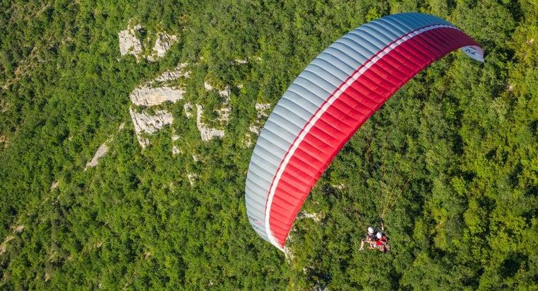 nylon-used-parachutes