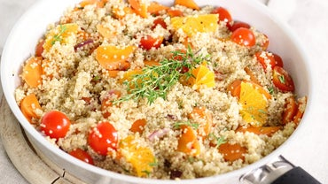 Healthy Food Recipes Featuring Quinoa and Vegetable Salad