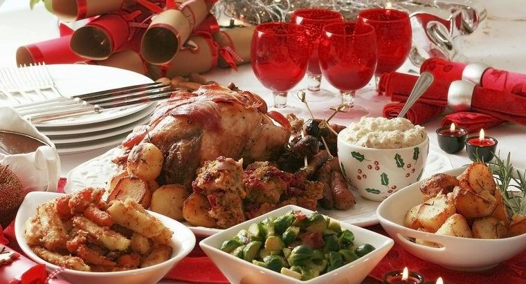 popular-menu-items-serve-christmas-dinner