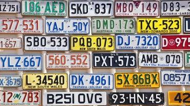 Do Prisoners Make License Plates?