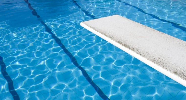 How Do You Refinish a Fiberglass Swimming Pool Diving Board ...