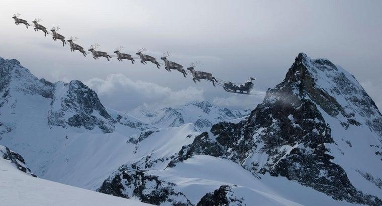 many-reindeer-pulled-santa-s-sleigh