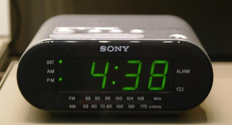 How Do You Set a Sony Dream Machine Alarm Clock? | Reference com