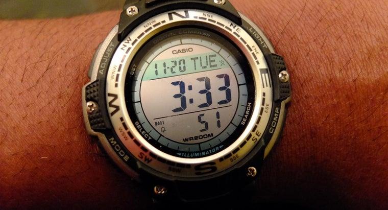 set-time-digital-watch