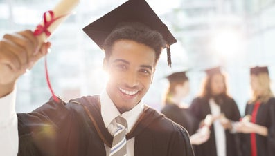 What Should Someone Wear Under a Cap and Gown?