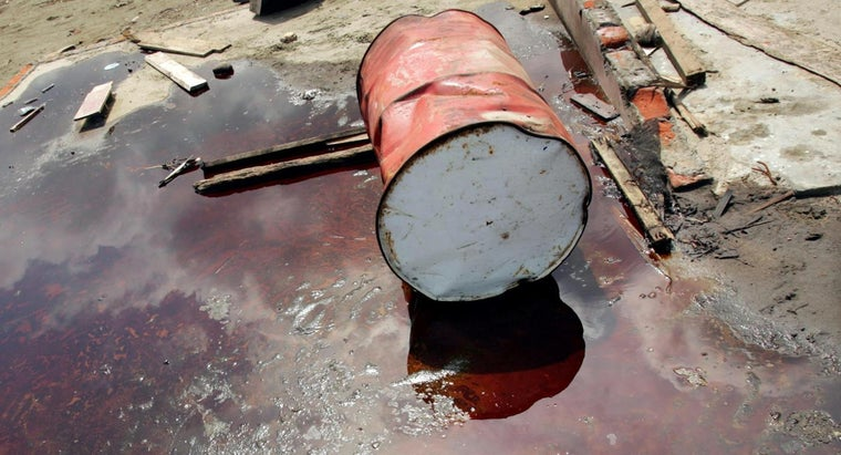 size-oil-drum