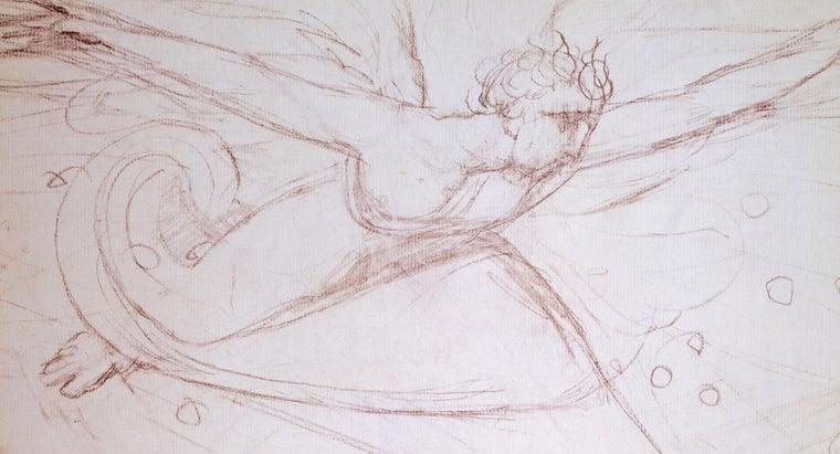 sketch-drawings-angels