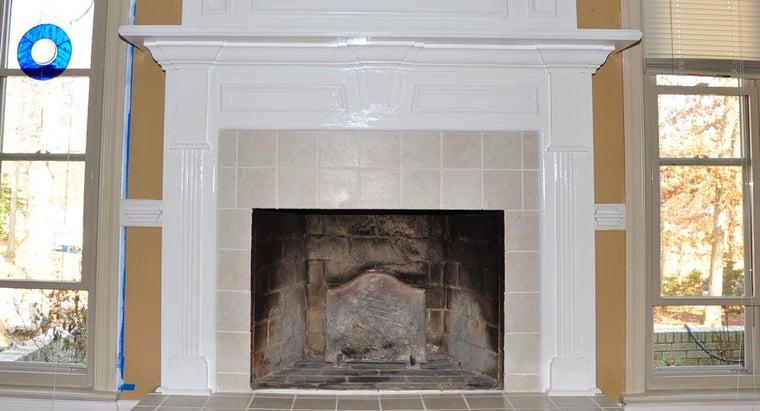 Standard Height Fireplace Mantel