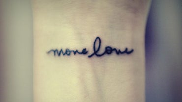How Is Tattoo Lettering Used?