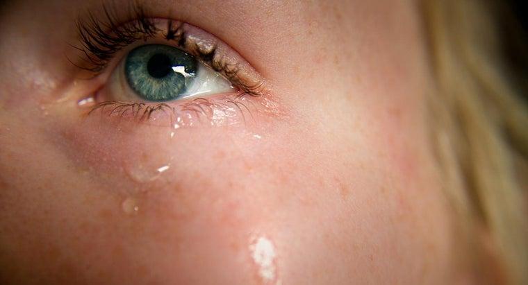 tears-salty