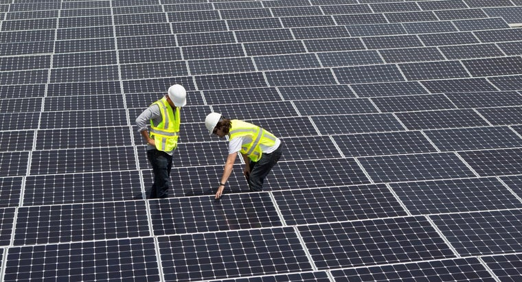test-used-solar-panel