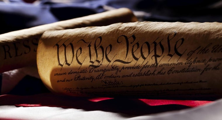 What Are the Three Main Parts of the U.S. Constitution ...
