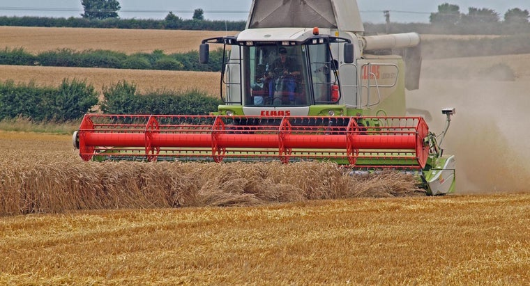 What Are the Uses of a Combine Harvester? | Reference com
