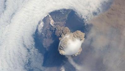 How Do Volcanoes Form Landforms?