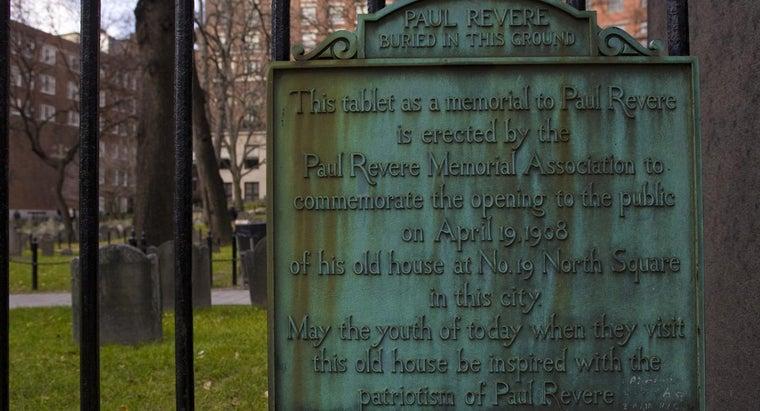 were-paul-revere-s-accomplishments