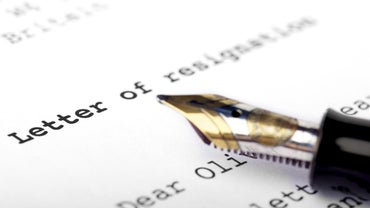 How Do You Word a Professional Letter of Resignation?