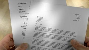 How Do You Write a Job Application Letter?
