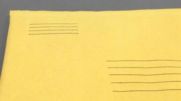 How Do You Write a Return Address?