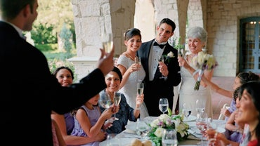 How Do You Write a Speech That Welcomes the Bride Into the Family?