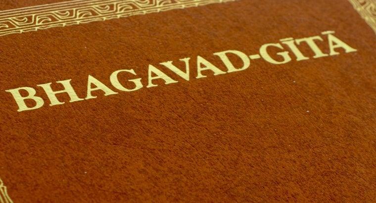 wrote-bhagavad-gita