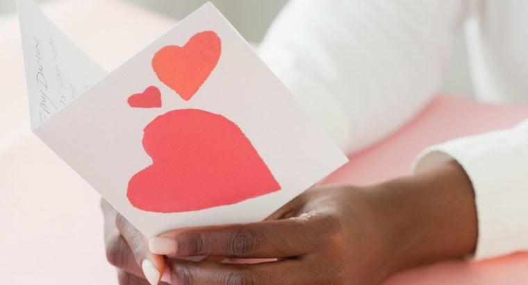 wrote-first-valentine