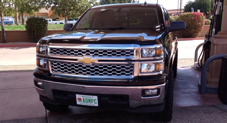 What Are the Standard Colors for the 2014 Silverado?