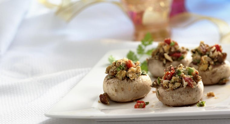 What Is in a Recipe for Crab-Stuffed Mushrooms?