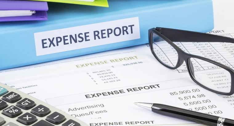 What Are the Uses of a Printable Expense Report?