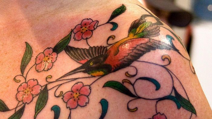 What are some ideas for hummingbird tattoos?