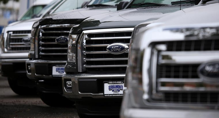 What Are the 2015 F-150 Ford Truck Dimensions?