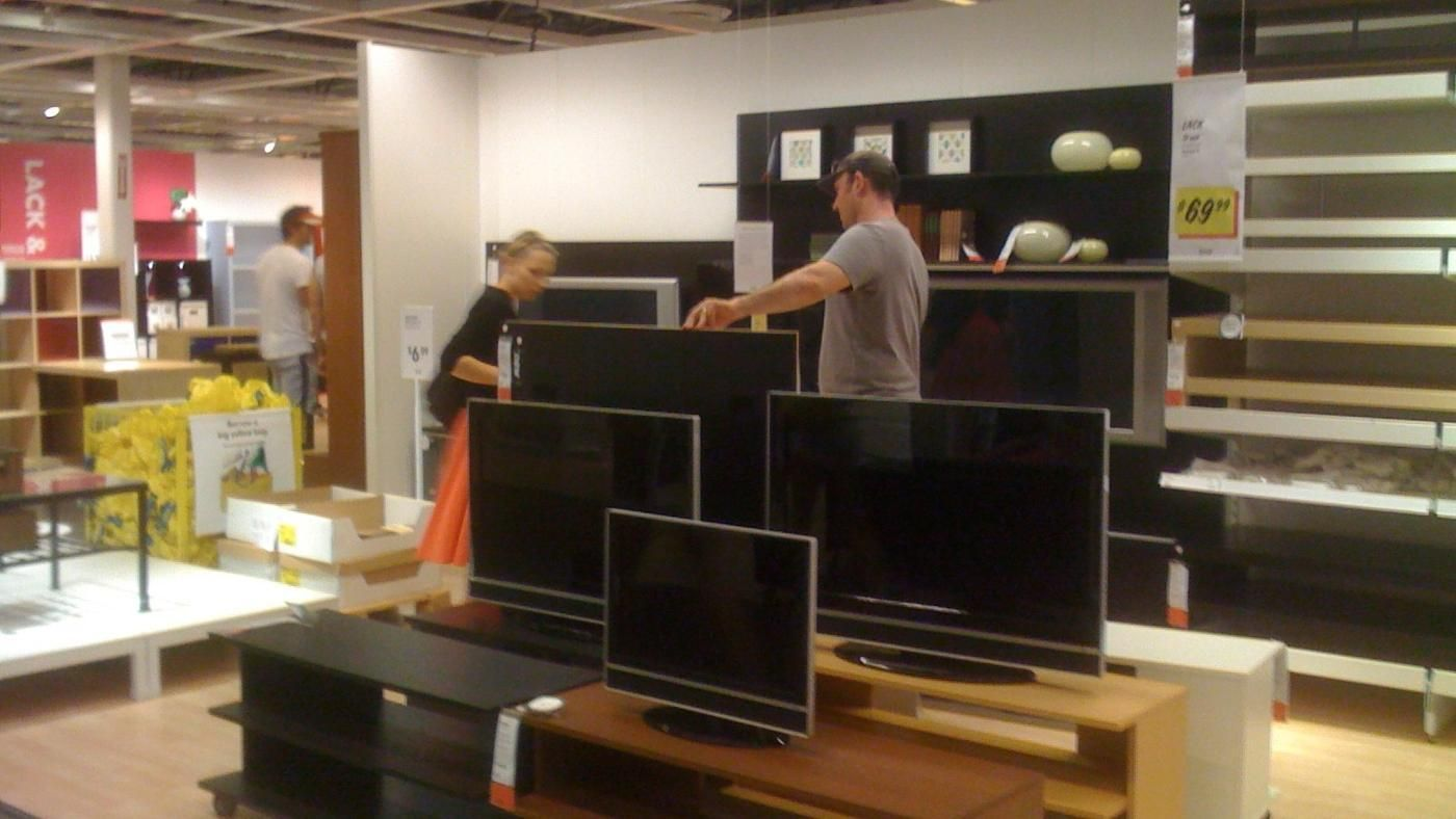 what are the actual dimensions of a 55 inch tv. Black Bedroom Furniture Sets. Home Design Ideas