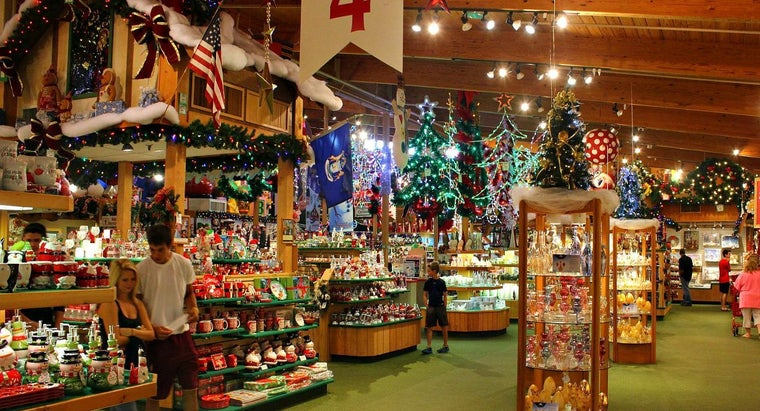 Where Is the World's Largest Christmas Store?