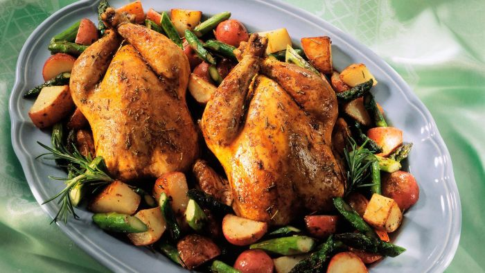 What Are Some Ways to Cook Cornish Game Hens?