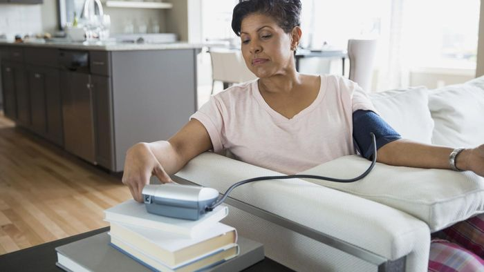 What are the implications of a high blood pressure?