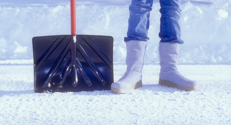 What Are Some Top-Rated Snow Shovels?