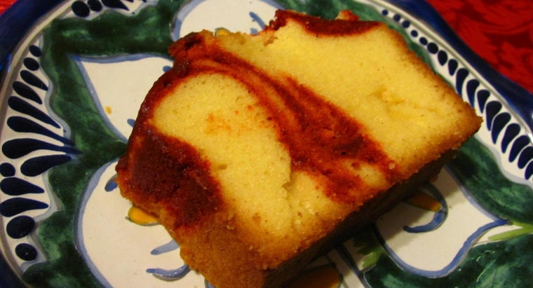 What Is a Good Recipe for Making Butter Pound Cake From Scratch?