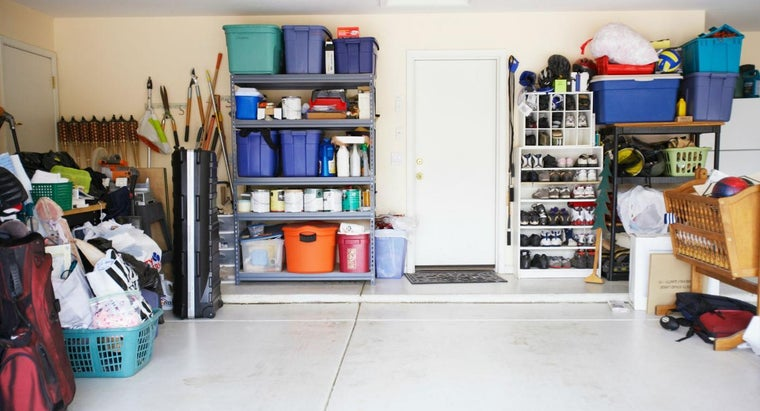 What Are Some Design Ideas for Garage Storage?