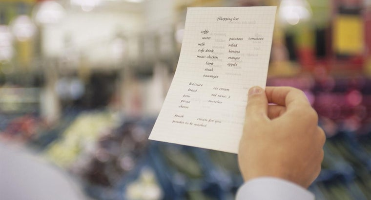 Where Can You Find a Grocery List of Diabetic Foods?