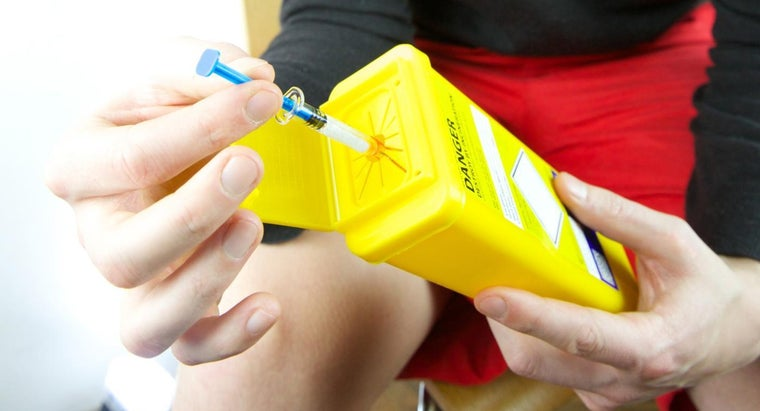 How Do You Safely Dispose of a Sharps Container?