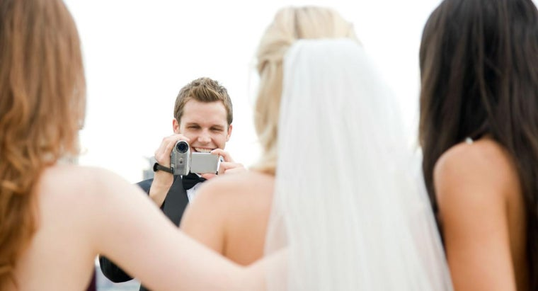 What Are Some Tips for Shooting a Wedding Video?