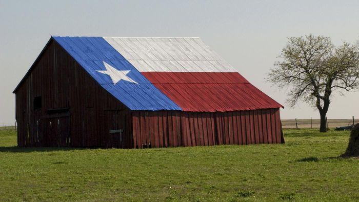 What are the top ranked places to live in Texas?