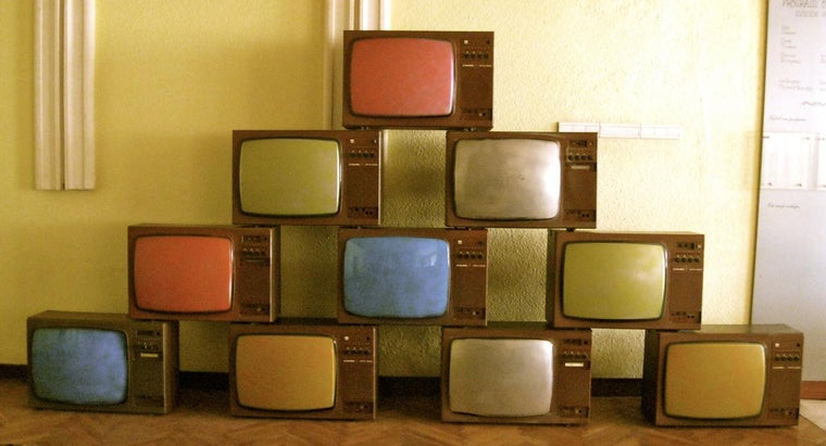How Do You Dispose of Old Television Sets?