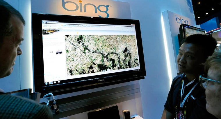 How Do You Get a Bird's Eye View on Bing Maps?