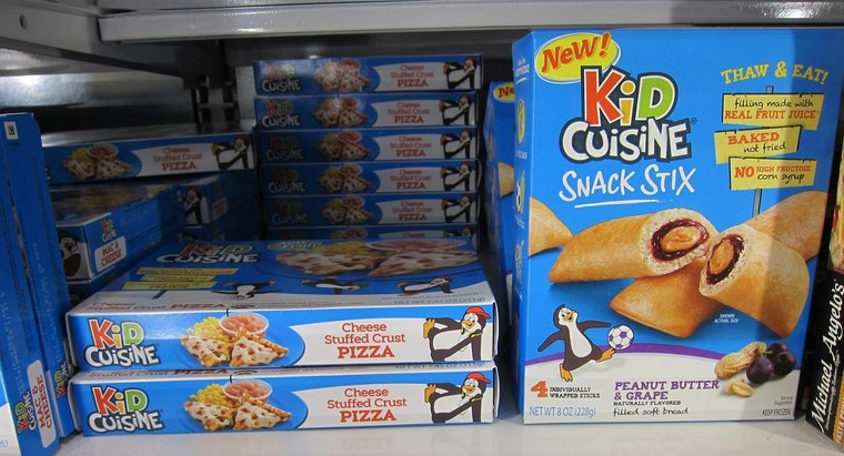 What Are Some Popular Frozen Meals by Kid Cuisine?