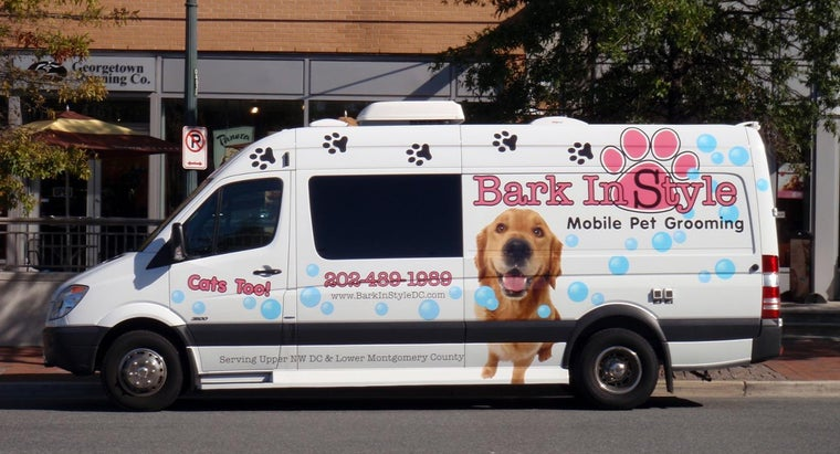 What Equipment Does a Mobile Grooming Van Need?