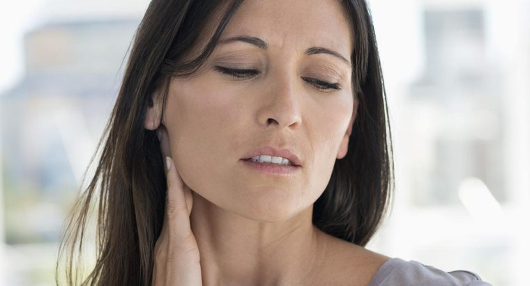 What Are Some Causes of Swollen Neck Glands?